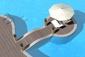 Farniente au bord de la piscine